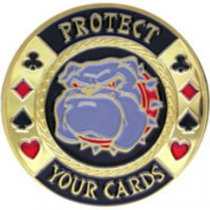 Poker Protector Card Guard Cover in Capsule :  Protect Your Cards