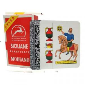 Italian Regional Playing Cards : Modiano Siciliane N96