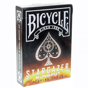 Bicycle Playing Cards STARGAZER SUNSPOT Plastic Coated Cards
