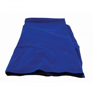 Supreme Casino Poker Table Cloth - Blue Felt