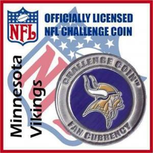 Poker Protector Card Guard Cover : NFL Minnesota Vikings