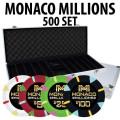 Monaco Millions Poker Chips