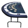 Blackjack table side view
