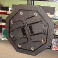 Octagon Poker Table back view