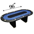 12 Player Blue Poker Table
