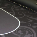 Poker Table SPS Manhattan Full Rail close up