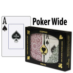 Copag Playing Cards Elite Poker Green/Burgundy Jumbo Index