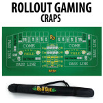 Roll Out Rubber Foam Table Top - Craps