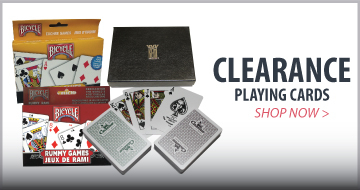 Bicycle Clearance Playing Cards