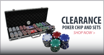 CLEARANCE Poker Chip Sets