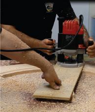 BUILDING A CUSTOM POKER TABLE