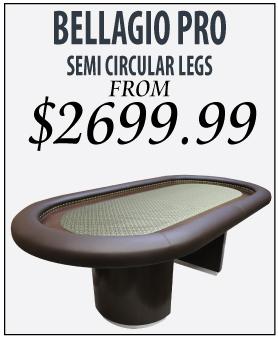 Bellagio Pro Semi Circular Legs from $2699.99