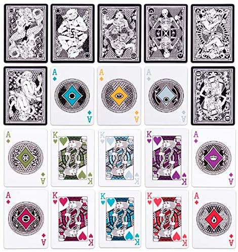 7 Deadly Sins Playing Cards