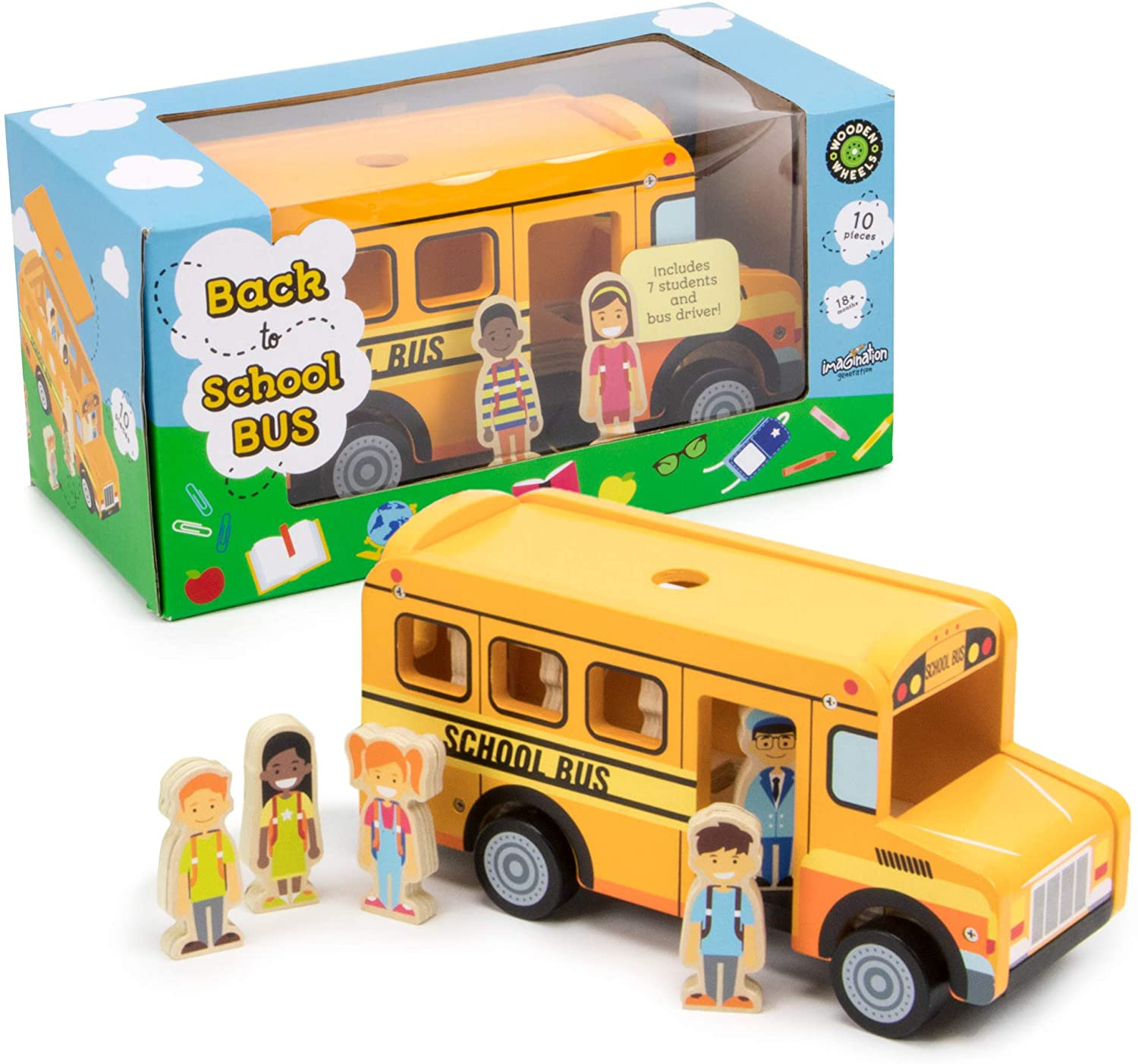 Back to School Bus Toy