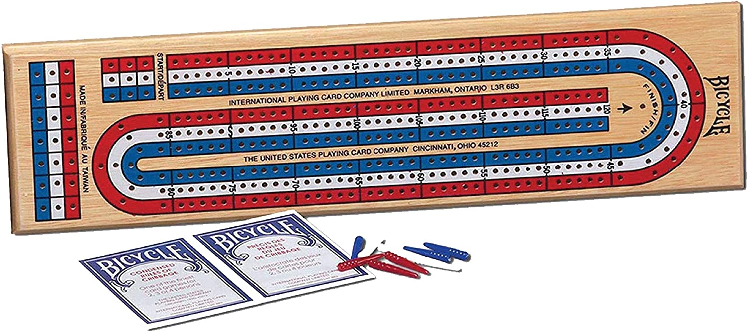 Cribbage Board by Bicycle