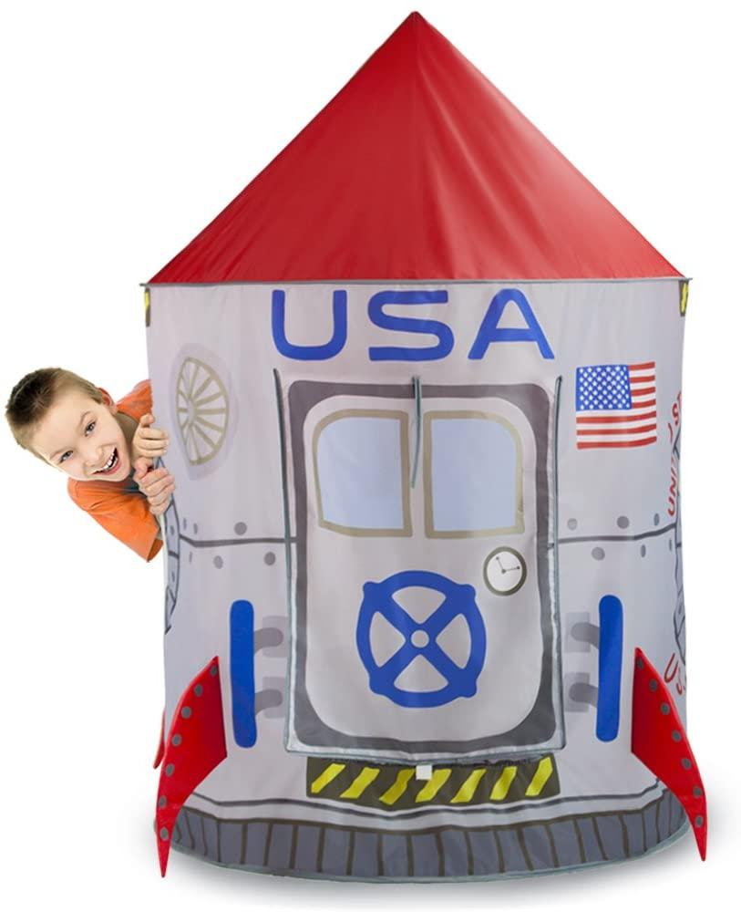 Space Adventure Roarin' Rocket Play Tent