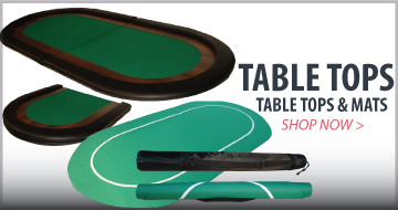 Poker Table Tops and Mats