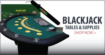 Blackjack Tables and Supplies