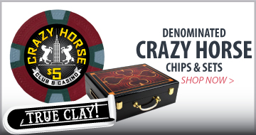 CRAZY HORSE POKER CHIPS