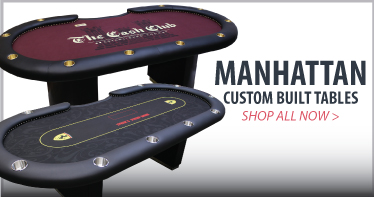 Manhattan custom poker table