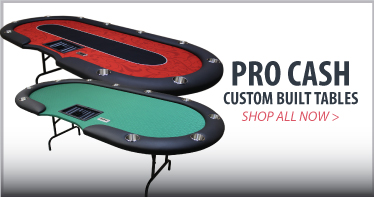 Pro Cash custom poker table