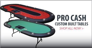 Pro Cash custom poker table