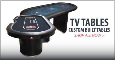 Custom poker tables for TV