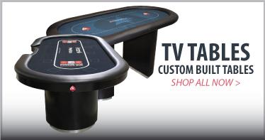 Custom poker tables for TV