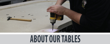 About our custom poker tables
