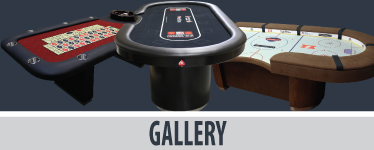 Custom poker tables photo gallery